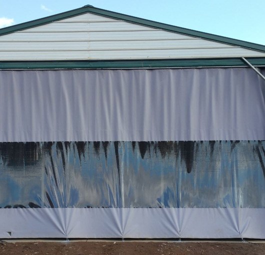 Outdoor Industrial Curtains  Akon  Curtain and Dividers
