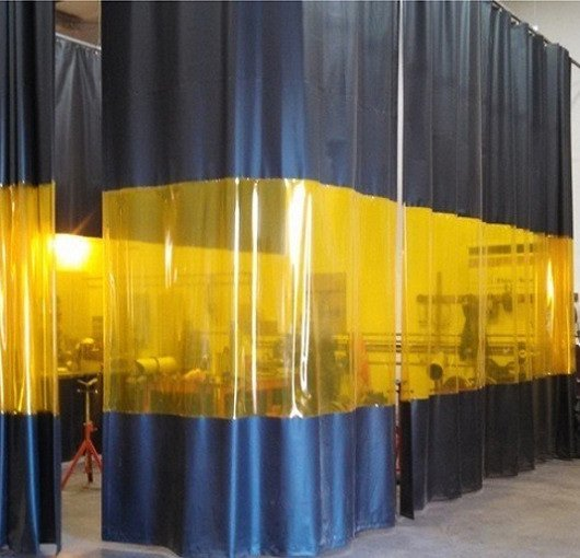 Industrial Welding Curtains  Akon  Curtain and Dividers