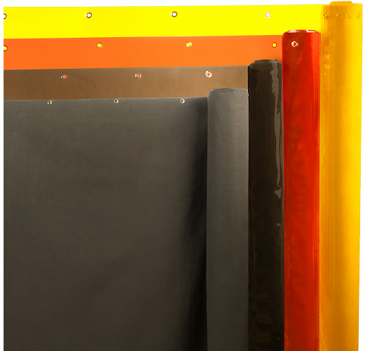 Welding Curtain Rolls  Akon  Curtain and Dividers