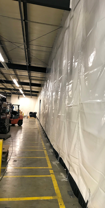 Custom Made Insulated Warehouse Curtains Akon Curtain And Dividers