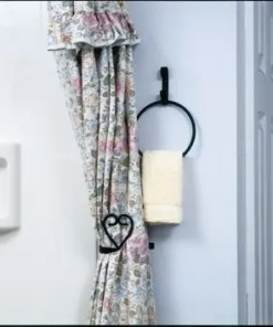 heart-curtain-tieback brackets