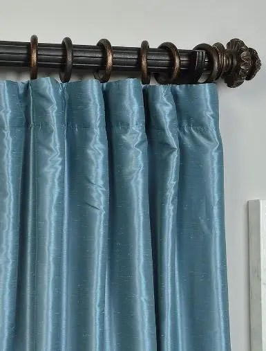 blue-vintage-silk-curtains