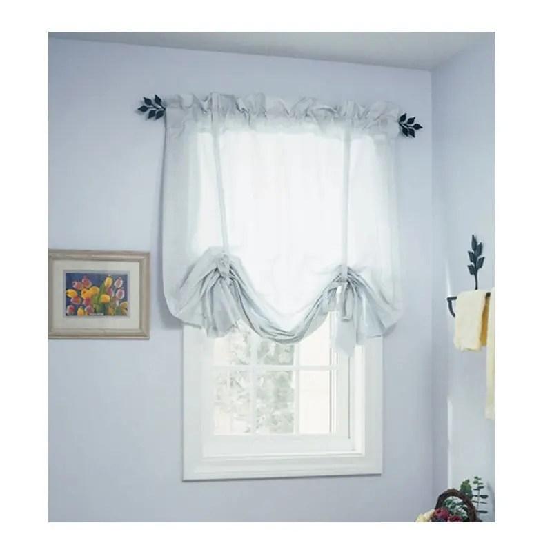 Leaf Curtain Rod [Size: Short, Medium, Long, Extra Long