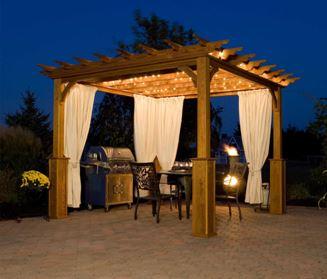 create a luxurious oasis with pergola curtains curtain tracks com