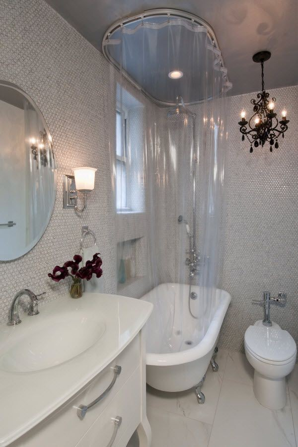 RubADubDub Shower Curtains for Clawfoot Tubs  Curtain
