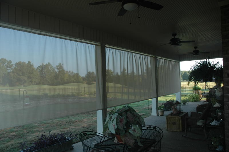 Outdoor Curtain Project  CurtainTrackscom