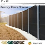 4 X 50 Green Fence Privacy Screen 150 Gsm Windscreen Shade Cover Mesh Fabric