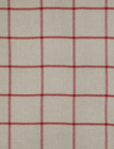 Curtain Window Pane Check Red Next Made To Measure