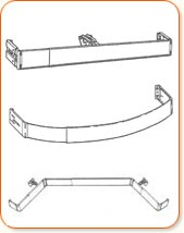 Curtain Rods Are Kirsch Drapery Hardware Components With Many Styles