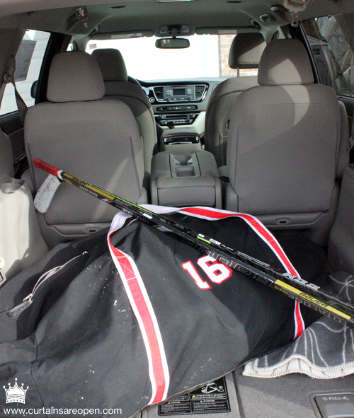 I could actually bring more than just my own player! LOTS of room for gear and a hidden extra row of seats if needed!