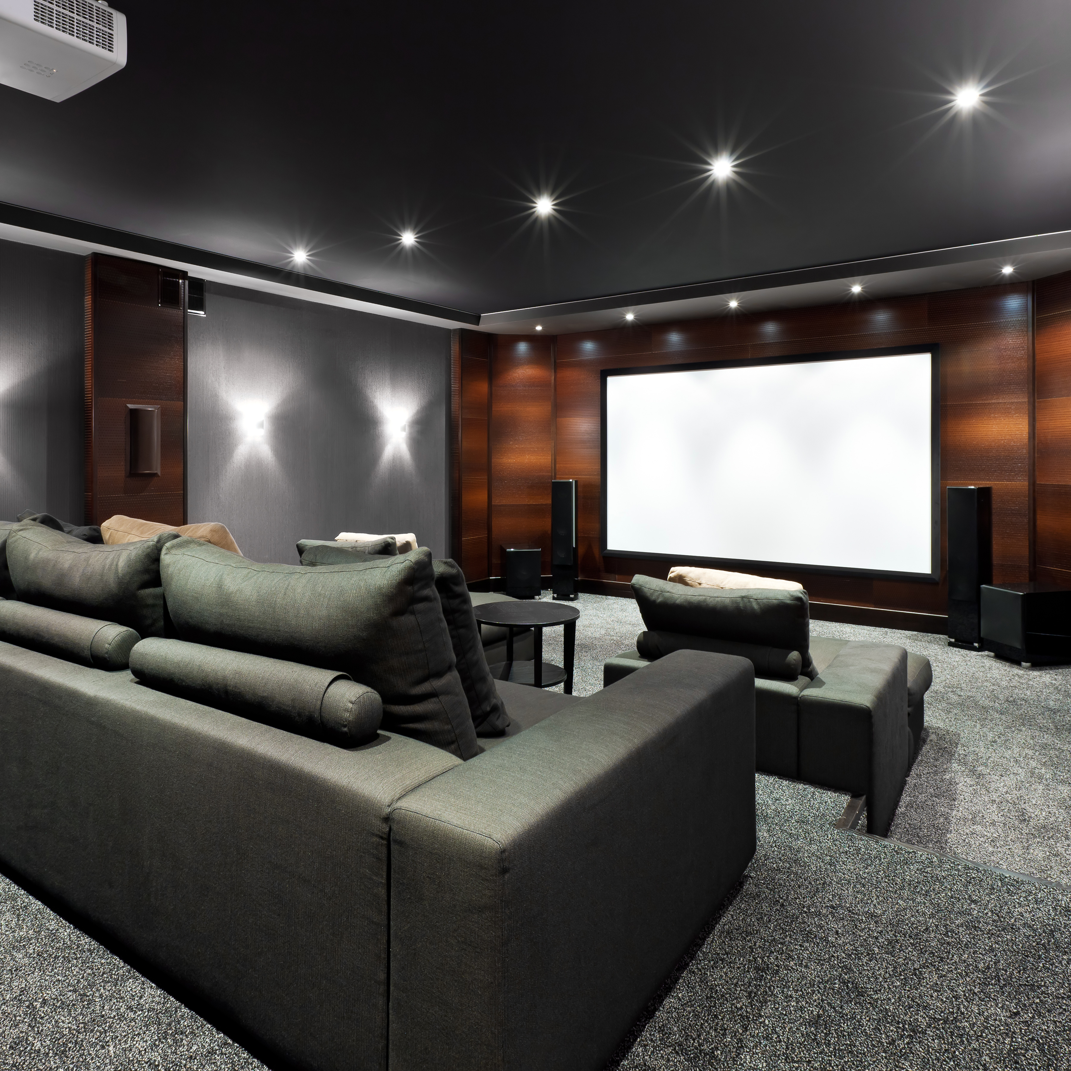 Use these tips and tricks to make your cozy home feel spacious and comf. Home Theater and Media Room Design Ideas