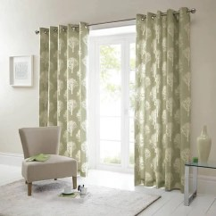 Orange Living Room Curtains Paint Color For Woodland Trees Green - Ready Made