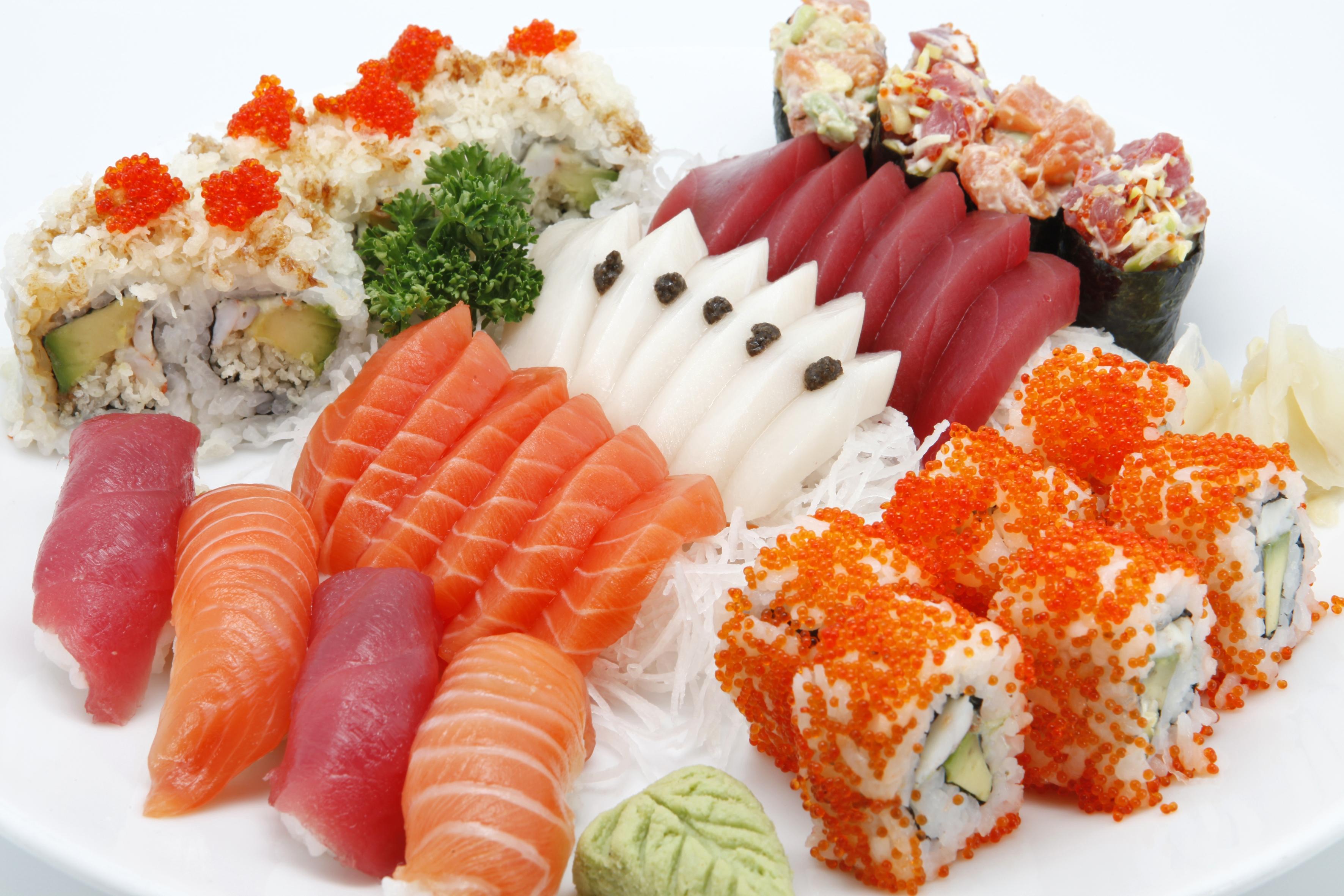 Rodzios de comida japonesa em Goinia  Goinia