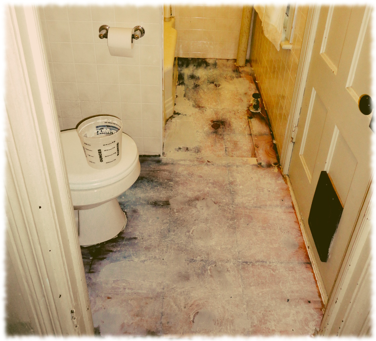Bathroom Floor Tiles Sealing : Bathroom improvements the curtis home website