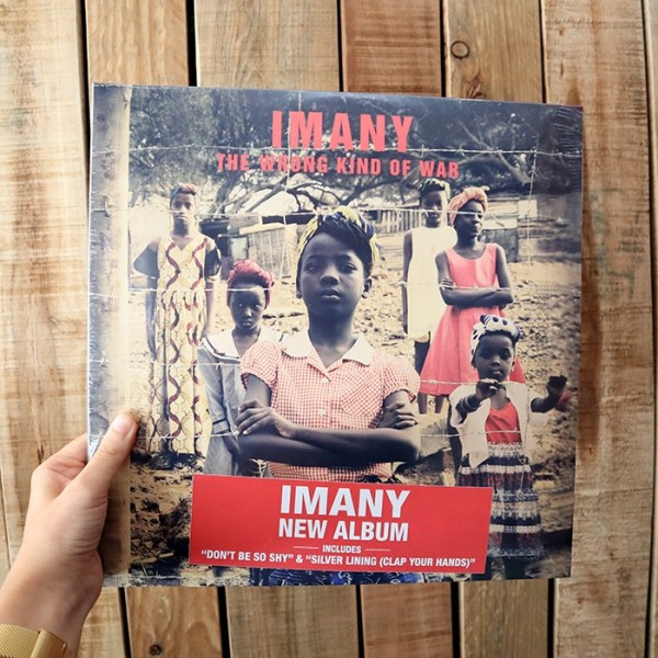 imany the wrong kind of war vinyle