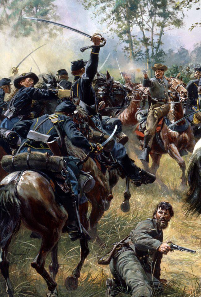 Cavalry Attachk