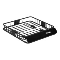 Curt 18115 Roof Mounted Cargo Rack/Sport Carrier for ...