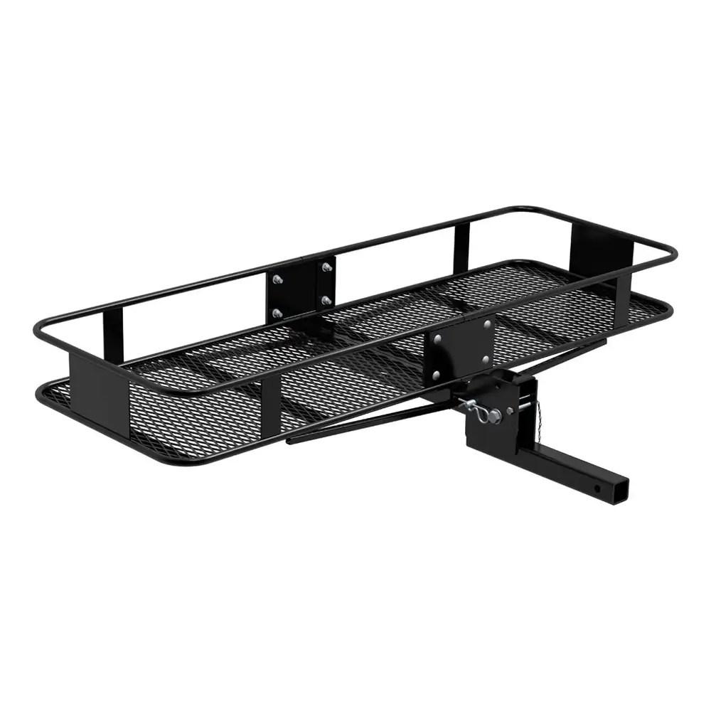 trailer hitch chair embraco compressor wiring diagram curt mount folding cargo rack basket carrier