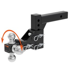 curt trailer hitch wiring ball mount w 5 3 4 drop rise for dodge ram van 10 10 of 12 see more [ 3008 x 3008 Pixel ]