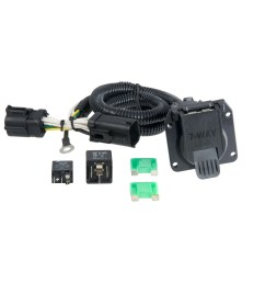 curt vehicle to trailer wiring harness 55242 for ford f 150 f 250 7 pin [ 3008 x 3008 Pixel ]