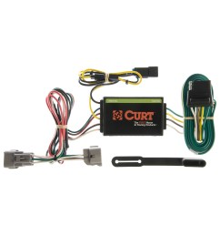 curt vehicle to trailer wiring harness 55260 for 95 98 jeep grand cherokee [ 3008 x 3008 Pixel ]