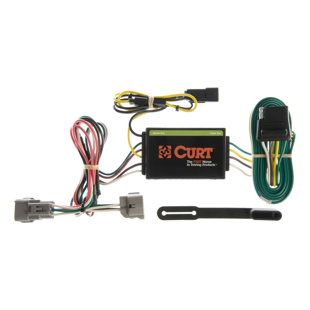 medium resolution of curt vehicle to trailer wiring harness 55260 for 95 98 jeep grand cherokee