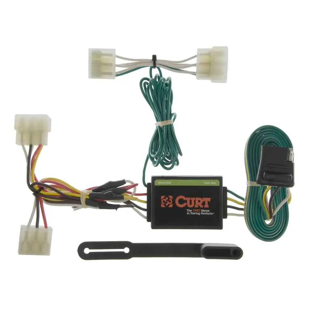 medium resolution of curt vehicle to trailer wiring harness 55304 for mazda b2000 b2200 b2600