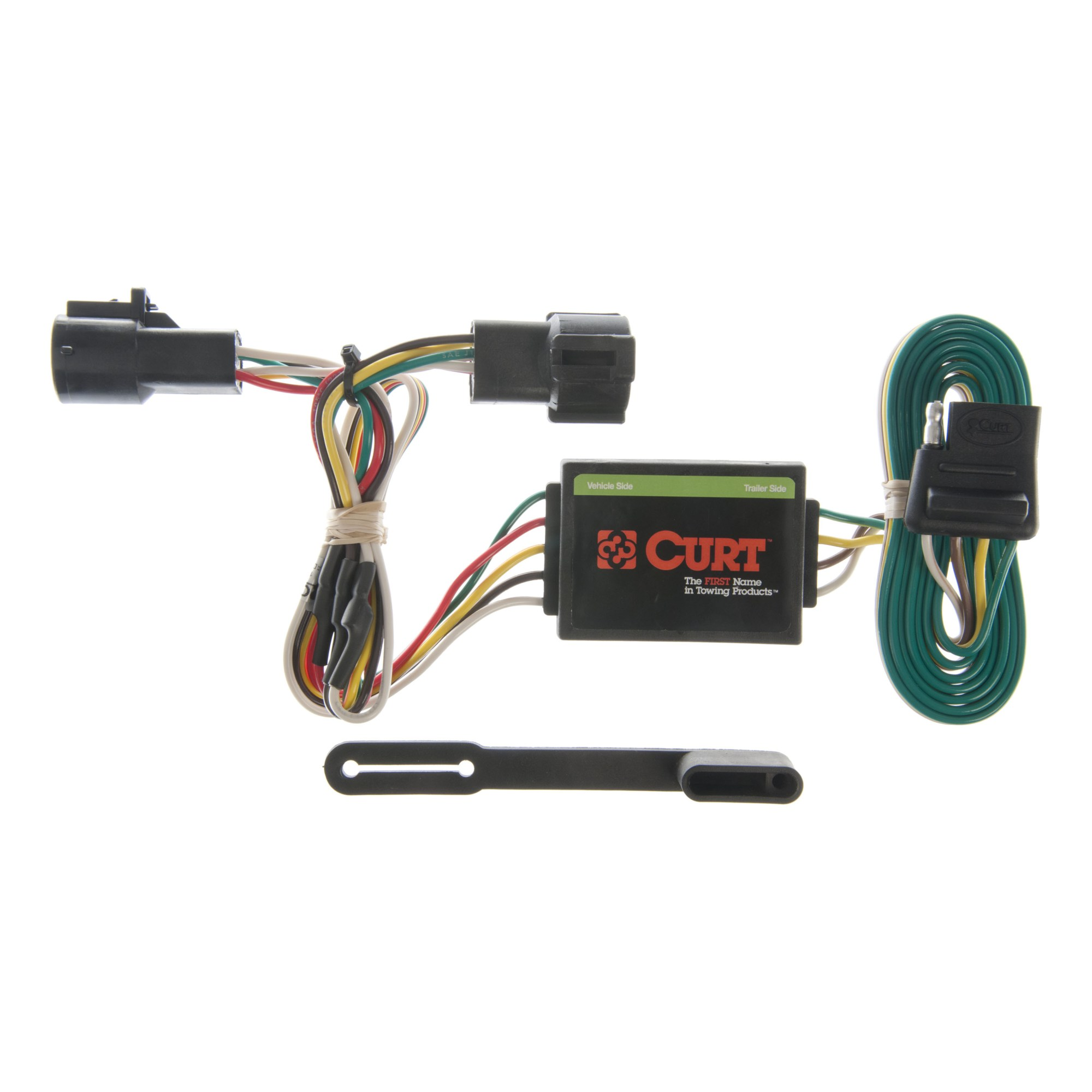 hight resolution of curt 55325 vehicle to trailer wiring harness for ford ranger mazda truck