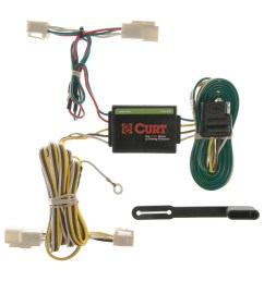 curt custom vehicle to trailer wiring harness 55341 for 1996 2002 toyota 4runner [ 3008 x 3008 Pixel ]