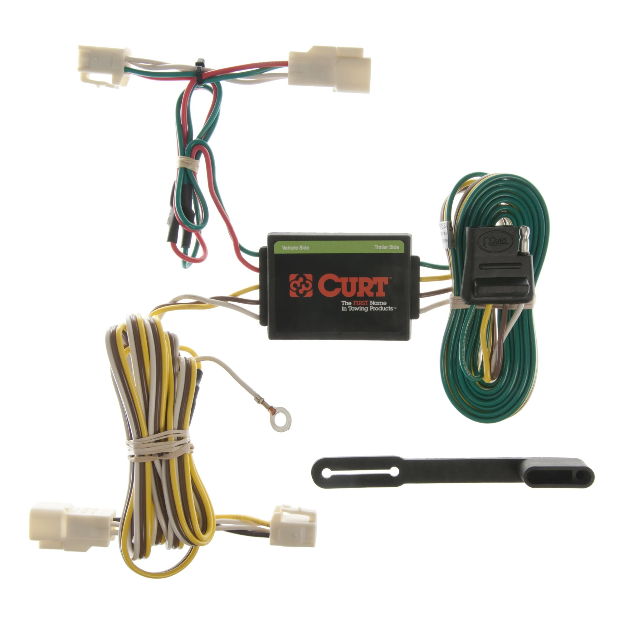 hight resolution of curt custom vehicle to trailer wiring harness 55341 for 1996 2002 toyota 4runner