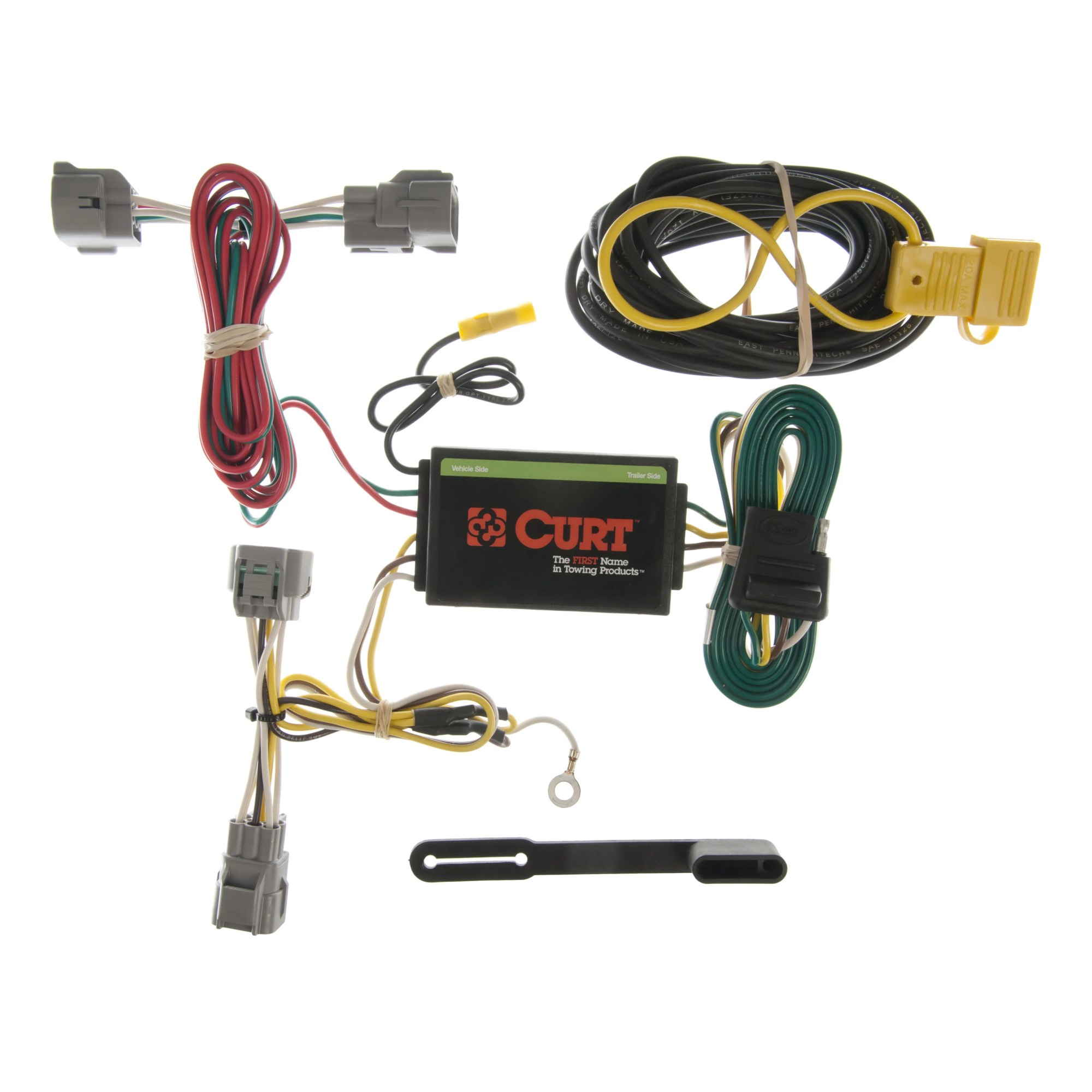hight resolution of curt vehicle to trailer wiring harness 55349 for 94 98 jeep grand trailer light wiring for