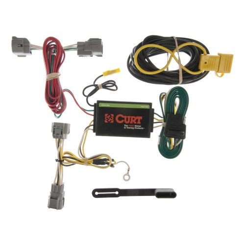 small resolution of curt vehicle to trailer wiring harness 55349 for 94 98 jeep grand trailer light wiring for