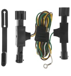 curt custom vehicle to trailer wiring harness 55350 for 1992 1996 ford bronco [ 3008 x 3008 Pixel ]