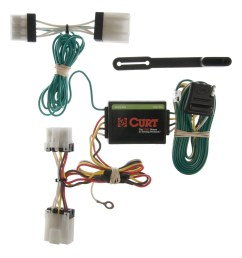 curt vehicle to trailer wiring harness 55353 for nissan d21 pathfinder pickup [ 3008 x 3008 Pixel ]
