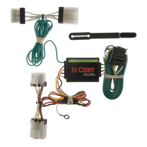 small resolution of curt vehicle to trailer wiring harness 55353 for nissan d21 pathfinder pickup