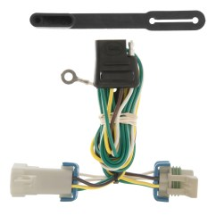 5 Way Trailer Plug Wiring Diagram Gmc Cat Wall Socket Curt 55359 Vehicle To For Chevy S10