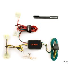 trailer hitch wiring kit 19952004 toyota tacoma 19891995 toyotacurt custom vehicle to trailer wiring harness 55379 [ 3008 x 3008 Pixel ]