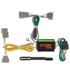 curt vehicle to trailer wiring harness 55513 for toyota t100 tacoma [ 3008 x 3008 Pixel ]