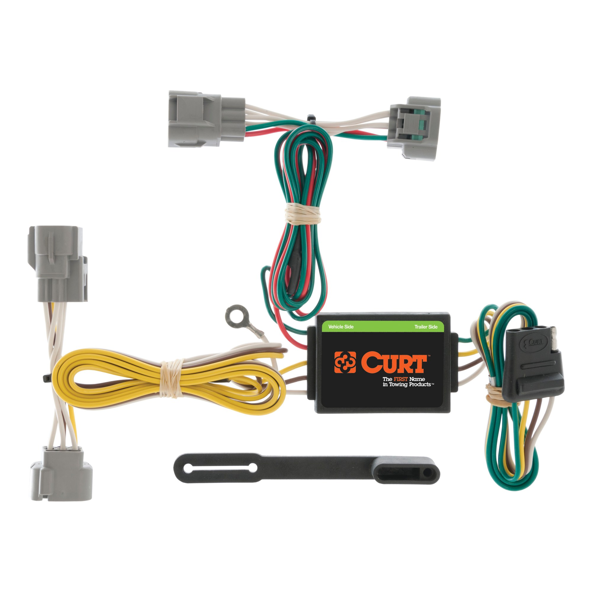 hight resolution of curt vehicle to trailer wiring harness 55513 for toyota t100 tacoma