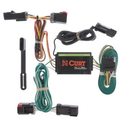 details about curt custom vehicle to trailer wiring harness 55530 for 04 08 chrysler pacifica [ 3008 x 3008 Pixel ]