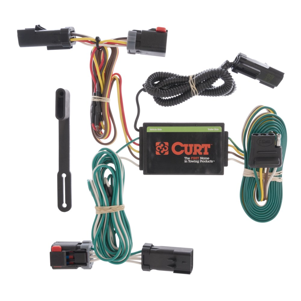 medium resolution of details about curt custom vehicle to trailer wiring harness 55530 for 04 08 chrysler pacifica