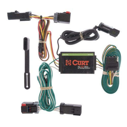 small resolution of details about curt custom vehicle to trailer wiring harness 55530 for 04 08 chrysler pacifica