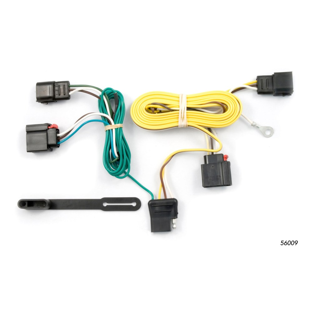 medium resolution of curt vehicle to trailer wiring harness 56009 for 07 13 jeep grand cherokee