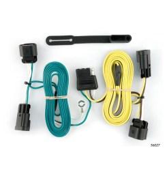 curt custom vehicle to trailer wiring harness 56027 for 08 12 chevrolet malibu [ 3008 x 3008 Pixel ]