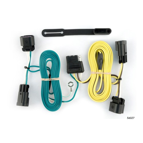small resolution of curt custom vehicle to trailer wiring harness 56027 for 08 12 chevrolet malibu