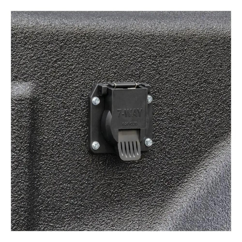 medium resolution of rv 7 way trailer plug wiring also trailer wiring color code diagram