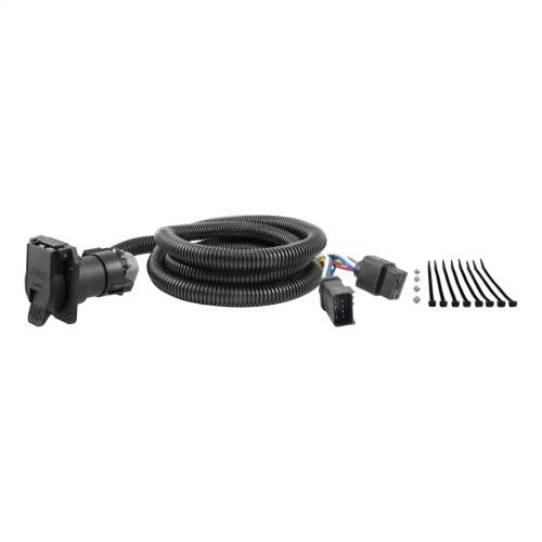 small resolution of curt 56071 7 way wiring harness extension for dodge ram dakota