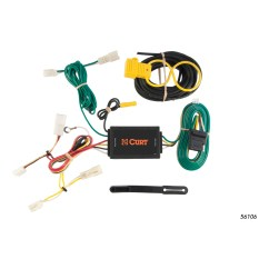 Plug Wiring Diagram Canada Central Heating Programmer Curt Custom Vehicle To Trailer Harness 56106 For