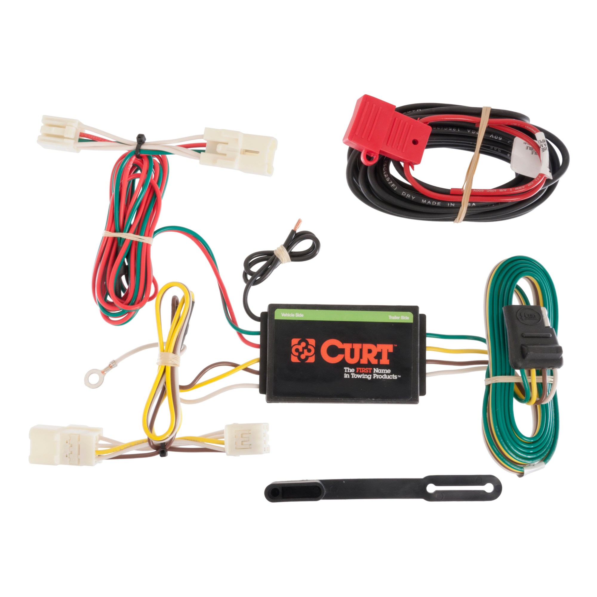 hight resolution of  toyotum wiring harnes curt custom vehicle to trailer wiring harness 56165 for