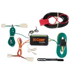 curt vehicle to trailer wiring harness 56189 for 14 16 mitsubishi outlander [ 3008 x 3008 Pixel ]